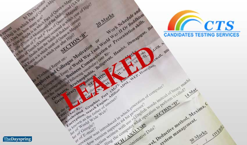 No action despite multiple complaints on leaked paper for the AD